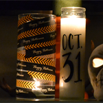 Dollar Store Halloween Candles