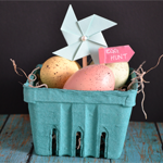 Mini Easter Basket Decoration