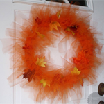 Falling Leaf Wreath