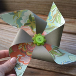 Spring Pinwheel Banner