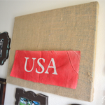 USA Burlap Canvas