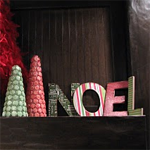 Noel Word Decor