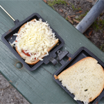 Camping Pie Iron Pizza