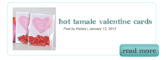 Hot Tamale Valentine Card Printable