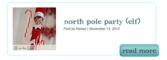 North Pole Elf on the Shelf Party Printables